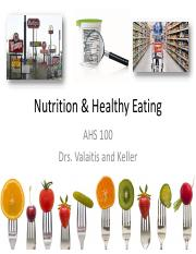 Nutrition Guest Talk