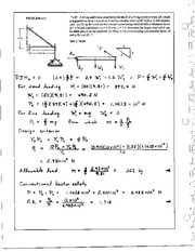 44_Mechanics Homework Mechanics of Materials Solution