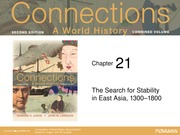 Chap 21 Stability in East Asia