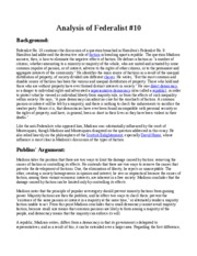 ways not to start a Federalist paper    summary by paragraph Study com