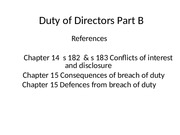 Week 6 Duty of Directors Part B(1)