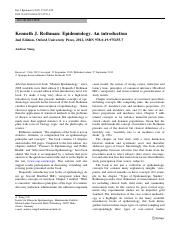 Epidemiology. An introduction (Article).pdf