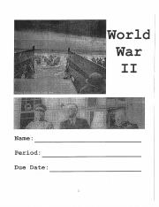 World War Two Packet