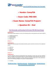 PassLeader PK0-004 Exam Dumps (81-end).pdf