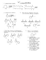 Organic Chem II Fall 2007 Exam 3