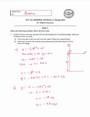 PHY 101 Quiz 2 Solution.pdf