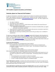 AIU Online Non-Active SAP Appeal Instructions - Updated 4.28.17.docx