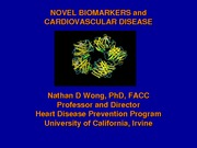 Novel Biomarkers and CVD 2010