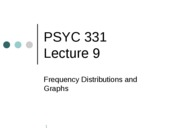 PSYC 331 Lecture 9--  FD and Graphs