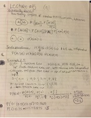 Notes on Probability and Random Variables