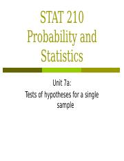 Unit 7a_Hypothesis Testing_ Single Sample.pptx
