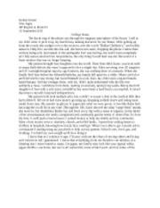 college essay endings