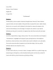 Honesty Essay  How To Write An Essay From An Interview also Academic Goals Essay Gothic Literature Study Resources Abortion Essay