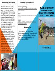 Disaster Response Plan Brochure (1) (1)