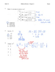 Mid Year Ch4 Solutions