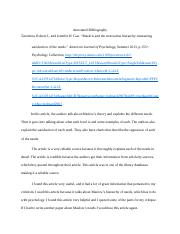 Annotated Bibliography2