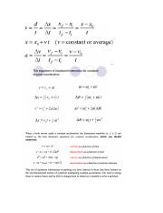 4 Kinemetic constant a equations, memorize!.docx