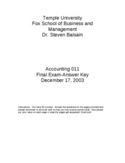 2003 Fall Accounting_011_final_exam_Fall_2003_Answers