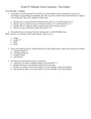 07 Multiple Choice Questions - New Papers.doc