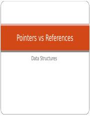 Pointers vs References.ppt