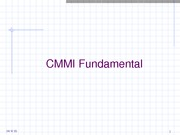 Lecture-5-CMMI-Fundamental-3.0