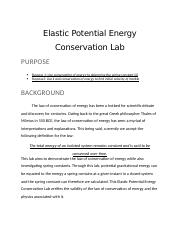 Elastic Potential Energy Conservation Lab.docx