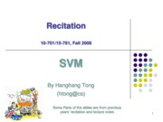 recitation-SVM