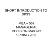R1-SPSS Intro