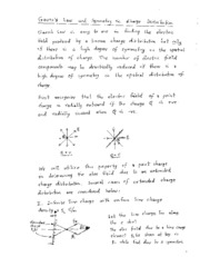 071913  gauss law and application to charge distribution with high symmetry