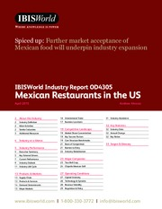 OD4305 Mexican Restaurants Industry Report