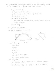 Physics 151 Notes 9-20-12