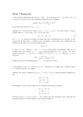 Homework 7 Solution Spring 2013 on Advanced Multivariable Calculus