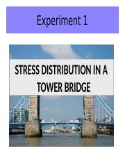 STRESS DISTRIBUTION IN A TOWER BRIDGE-2