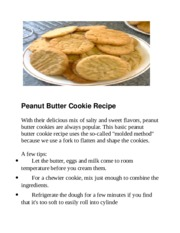 Peanut Butter Cookie Recipe.docx