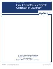 Core Competency Dictionary - Revised November 2010.doc