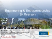 CEN100-Engineering & Entrepreneurship