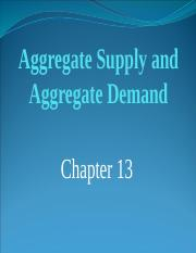 Chapter 13-Aggregate Supply and Aggregate Demand.pptx