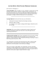 lecture notes counselling psychology 2015 Three-year full-time programme (2015)  one credit is equivalent to  one hour of teaching (lecture or tutorial) or two hours of practical  abnormal  and clinical psychology: an introductory textbook new york: open.