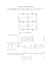 MATH 112 Kirchoff's Law Notes