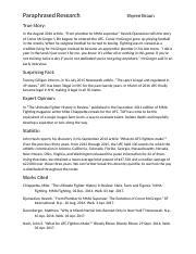 ufc informative speech Informative speech - essay example extract of sample informative speech tags: informative informative speech openings informative speech on the ufc.