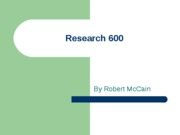 Research 600