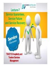Lecture-7 Service Guarantees, Service Failure and Service Recovery.pdf