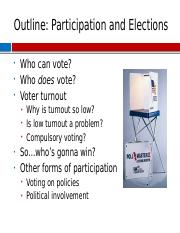 Topic 11b Participation and Elections.pptx