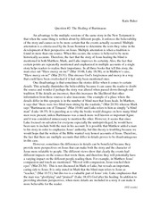 Essay on Bartimeaus