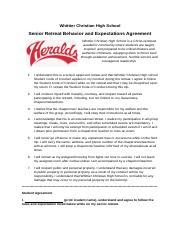 behavior and expectation agreement.docx