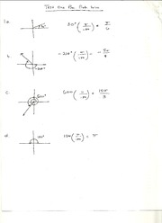 Test One Practice Problems Solutions