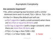 CS234-Topic-05b-AnalysisOfAlgs