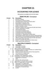 Advanced Accounting Chapter 21