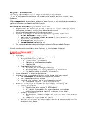 Exam 4 Notes - Chapters 17, 18, 20.docx
