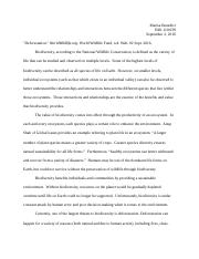 Proposal Essay Topics List  Pages Biodiversity Essay What Is A Thesis Statement In An Essay also Essays About English Language Biodiversity Study Resources A Modest Proposal Essay